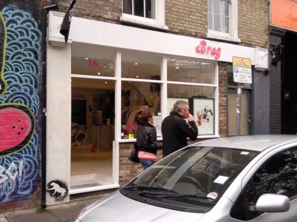 Brag, Bacon Street, London