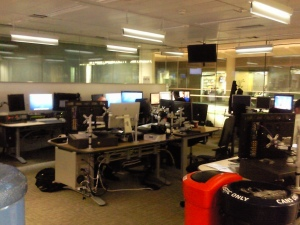 Where the magic happens - ITV News graphics suite