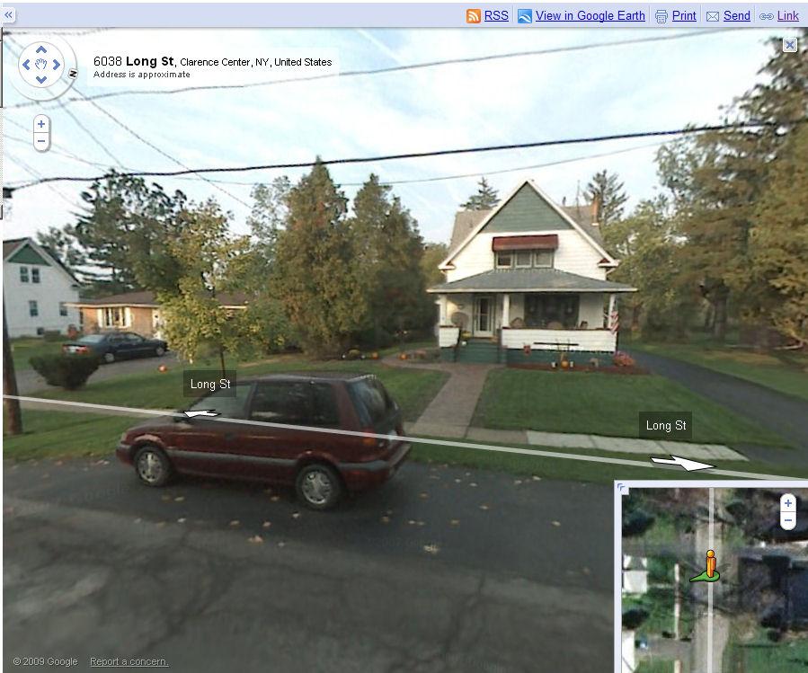 Google Streetview of