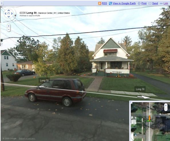 Google Streetview of