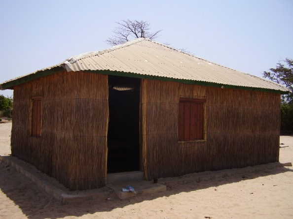Jinack Island - Jincak Lodge, my hut
