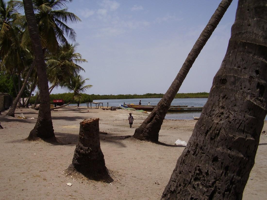 Jinack Island - riverside village